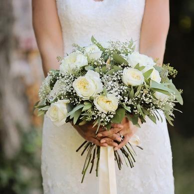 Création de bouquets pour mariage