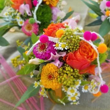 Compositions florales baptême