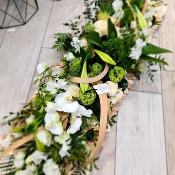 Couronne fleurie obsèques à Castelsarrasin