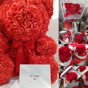 Offrir des fleurs pour la Saint-Valentin à Castelsarrasain