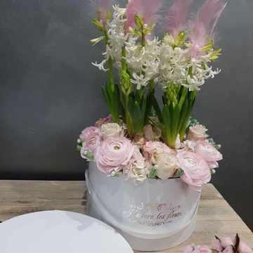 Création florale personnalisé à Castelsarrasain
