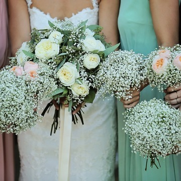 création de bouquet pour demoiselles d'honneur à Castelsarrasin