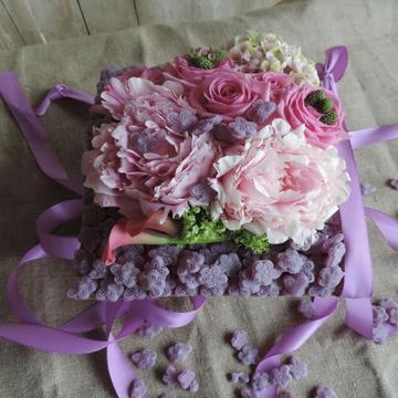 Décoration florale de table à Castelsarrasin
